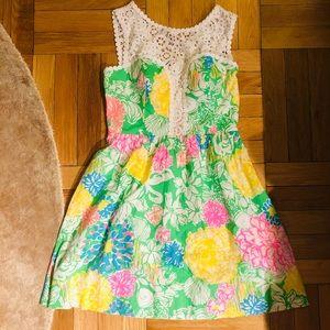 Lilly Pulitzer Raegan Dress- Size 00- NWT
